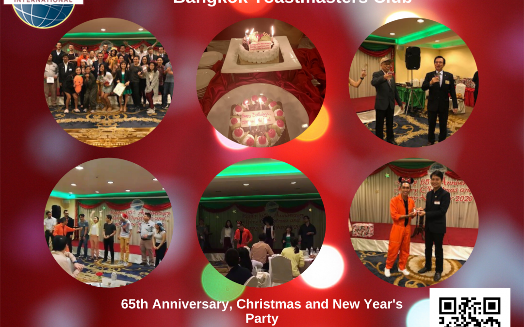 65th Anniversary, Christmas and New Year's Celebration