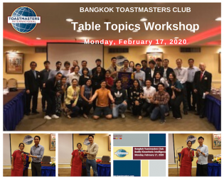 Table Topics Workshop
